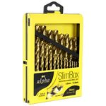 Alpha Metal Box Drill Set Metric