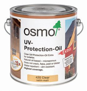 Clear UV oils for Exterior Timbers
